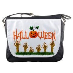 Halloween Messenger Bags by Valentinaart