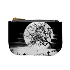 Halloween Landscape Mini Coin Purses by Valentinaart
