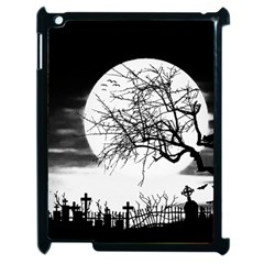 Halloween Landscape Apple Ipad 2 Case (black) by Valentinaart