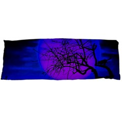 Halloween Landscape Body Pillow Case (dakimakura) by Valentinaart