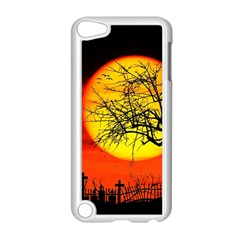 Halloween Landscape Apple Ipod Touch 5 Case (white) by Valentinaart