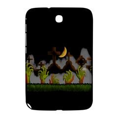 Halloween Zombie Hands Samsung Galaxy Note 8 0 N5100 Hardshell Case  by Valentinaart