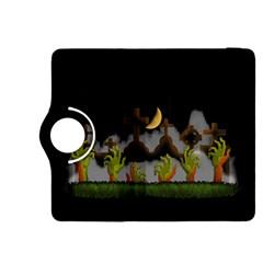 Halloween Zombie Hands Kindle Fire Hdx 8 9  Flip 360 Case by Valentinaart