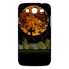 Halloween Zombie Hands Samsung Galaxy Mega 5 8 I9152 Hardshell Case  by Valentinaart