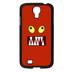 Funny Monster Face Samsung Galaxy S4 I9500/ I9505 Case (black) by linceazul