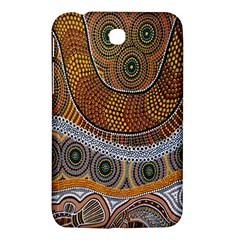 Aboriginal Traditional Pattern Samsung Galaxy Tab 3 (7 ) P3200 Hardshell Case  by Onesevenart
