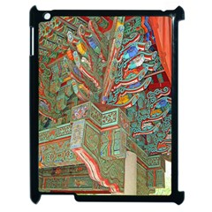 Traditional Korean Painted Paterns Apple Ipad 2 Case (black) by Onesevenart