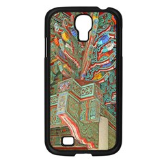 Traditional Korean Painted Paterns Samsung Galaxy S4 I9500/ I9505 Case (black) by Onesevenart