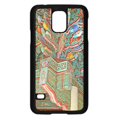Traditional Korean Painted Paterns Samsung Galaxy S5 Case (black) by Onesevenart