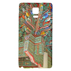 Traditional Korean Painted Paterns Galaxy Note 4 Back Case by Onesevenart