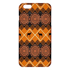 Traditiona  Patterns And African Patterns Iphone 6 Plus/6s Plus Tpu Case by Onesevenart