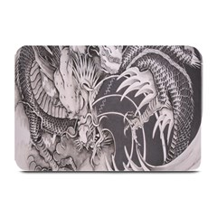 Chinese Dragon Tattoo Plate Mats by Onesevenart