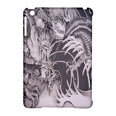 Chinese Dragon Tattoo Apple Ipad Mini Hardshell Case (compatible With Smart Cover) by Onesevenart