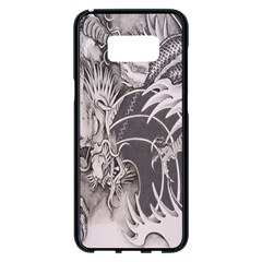 Chinese Dragon Tattoo Samsung Galaxy S8 Plus Black Seamless Case by Onesevenart