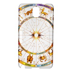 Zodiac  Institute Of Vedic Astrology Samsung Galaxy Note 3 N9005 Hardshell Case by Onesevenart