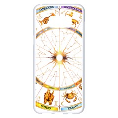Zodiac  Institute Of Vedic Astrology Samsung Galaxy S8 Plus White Seamless Case by Onesevenart