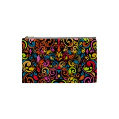 Art Traditional Pattern Cosmetic Bag (small)  by Onesevenart