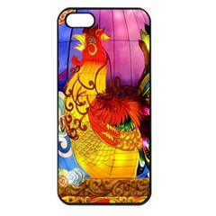 Chinese Zodiac Signs Apple Iphone 5 Seamless Case (black) by Onesevenart