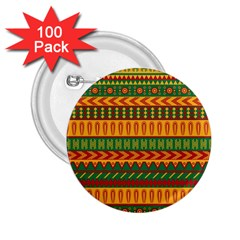 Mexican Pattern 2 25  Buttons (100 Pack)  by Onesevenart