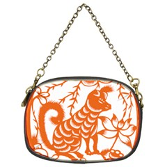 Chinese Zodiac Dog Chain Purses (two Sides)  by Onesevenart