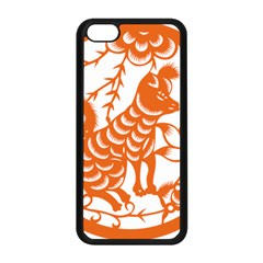 Chinese Zodiac Dog Apple Iphone 5c Seamless Case (black) by Onesevenart