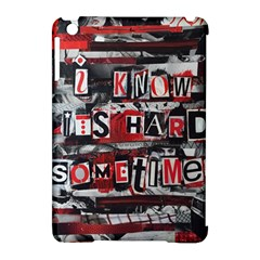 Top Lyrics   Twenty One Pilots The Run And Boys Apple Ipad Mini Hardshell Case (compatible With Smart Cover) by Onesevenart