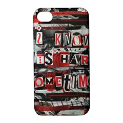 Top Lyrics   Twenty One Pilots The Run And Boys Apple Iphone 4/4s Hardshell Case With Stand by Onesevenart