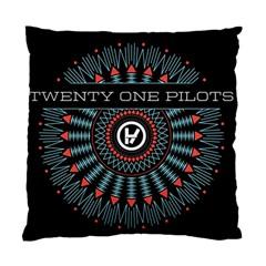 Twenty One Pilots Standard Cushion Case (two Sides) by Onesevenart