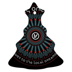 Twenty One Pilots Christmas Tree Ornament (two Sides) by Onesevenart