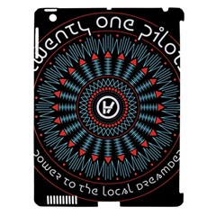 Twenty One Pilots Apple Ipad 3/4 Hardshell Case (compatible With Smart Cover) by Onesevenart