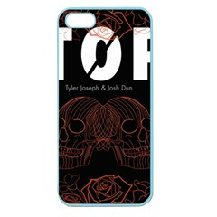 Twenty One Pilots Event Poster Apple Seamless Iphone 5 Case (color) by Onesevenart