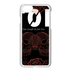 Twenty One Pilots Event Poster Apple Iphone 7 Seamless Case (white) by Onesevenart