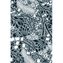 Abstract Floral Pattern Grey 5 5  X 8 5  Notebooks by Mariart