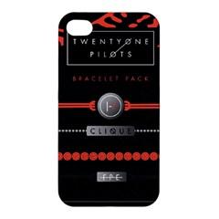 Twenty One Pilots Event Poster Apple Iphone 4/4s Hardshell Case by Onesevenart
