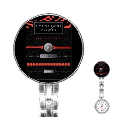 Twenty One Pilots Event Poster Stainless Steel Nurses Watch
