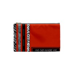 Poster Twenty One Pilots We Go Where We Want To Cosmetic Bag (small)  by Onesevenart