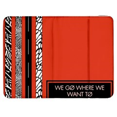 Poster Twenty One Pilots We Go Where We Want To Samsung Galaxy Tab 7  P1000 Flip Case by Onesevenart