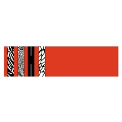 Poster Twenty One Pilots We Go Where We Want To Satin Scarf (oblong) by Onesevenart