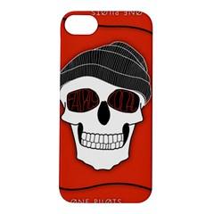Poster Twenty One Pilots Skull Apple Iphone 5s/ Se Hardshell Case by Onesevenart