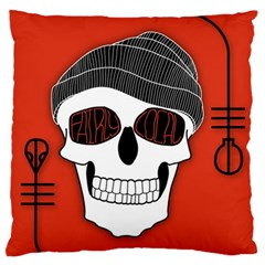 Poster Twenty One Pilots Skull Standard Flano Cushion Case (one Side) by Onesevenart