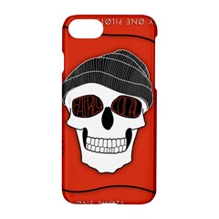Poster Twenty One Pilots Skull Apple Iphone 7 Hardshell Case by Onesevenart