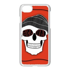 Poster Twenty One Pilots Skull Apple Iphone 7 Seamless Case (white) by Onesevenart