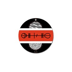 Poster Twenty One Pilots Golf Ball Marker by Onesevenart