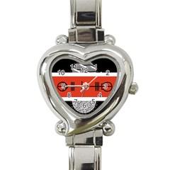 Poster Twenty One Pilots Heart Italian Charm Watch by Onesevenart