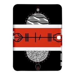 Poster Twenty One Pilots Samsung Galaxy Tab 4 (10 1 ) Hardshell Case  by Onesevenart