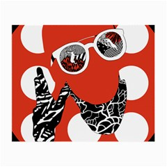 Twenty One Pilots Poster Contest Entry Small Glasses Cloth by Onesevenart