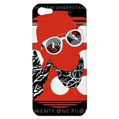 Twenty One Pilots Poster Contest Entry Apple Iphone 5 Hardshell Case by Onesevenart
