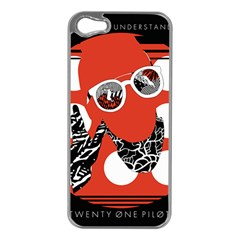 Twenty One Pilots Poster Contest Entry Apple Iphone 5 Case (silver) by Onesevenart