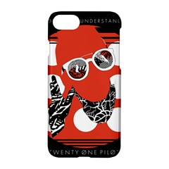 Twenty One Pilots Poster Contest Entry Apple Iphone 7 Hardshell Case by Onesevenart