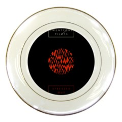 Albums By Twenty One Pilots Stressed Out Porcelain Plates by Onesevenart